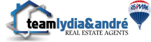 RE/MAX Lydia & Andre Logo